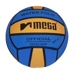 Mega Water Polo Ball Blue - Yellow size 4