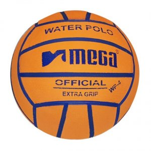 Mega Water Polo Ball Orange-Purple size 4