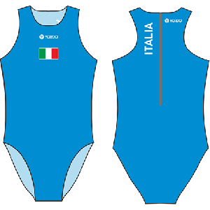 Italy 2 Italia - Water Polo Costume