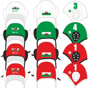 Wales - National Team Water Polo Hat for fans - Water Polo Hat, Yordo