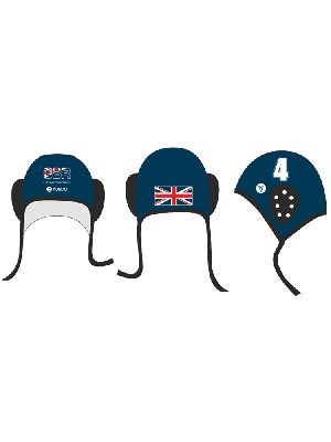 GBR - National Team Water Polo Hat for fans