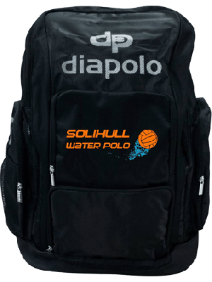 Solihull - Space Backpack Black - Diapolo