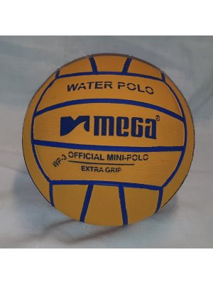 Mega Water Polo Ball Orange-Purple size 3