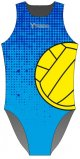 Halftone /blue/ - Water Polo Costume