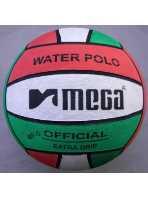 Mega Water Polo Ball Red-White-Green size 4