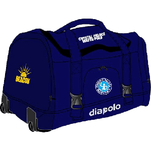 travel bag with trolley (70x35x35) - navy