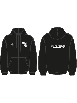 Weston-super-Mare Water Polo Club - Hoodie zip black