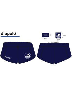 Crystal Palace - Navy Girls Shorts