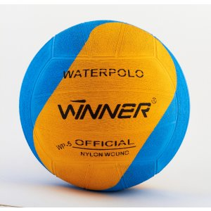 Winner Water Polo Ball blue - yellow SWIRL size 5
