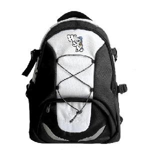 Weston-super-Mare Water Polo Club - Sky Backpack Black-Silver - Diapolo