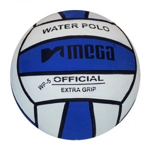 Mega Water Polo Ball Blue - White size 4