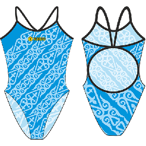 Kazah 1 - Single Strap Swimming Costume