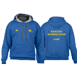 Bangor Barracudas - Hoodie Light Blue