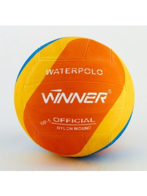 Winner Water Polo Ball orange SWIRL size 5