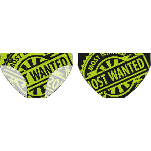 Most Wanted neon - Water Polo Trunk