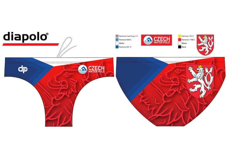 25a84ffbd Czech National Team - Water Polo Trunk Diapolo