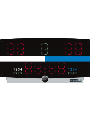 Stramatel W-TOP/B - INDOOR Portable WIRELESS WaterPolo Scoreboard