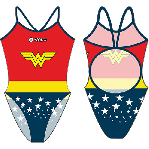 Wonderwoman - Single Strap Swimming Costume
