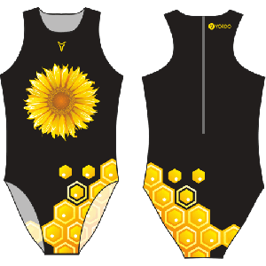 Sunflower /black/ - Water Polo Costume