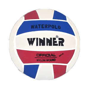 Winner Water Polo Ball Blue-White-Red size 5