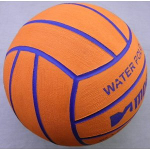Mega Water Polo Ball Orange-Purple size 5