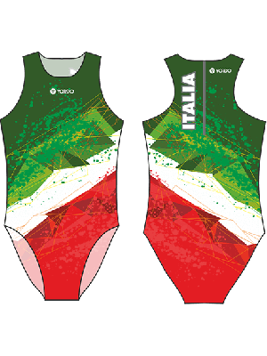 Italy 1 (Italia) - Water Polo Costume