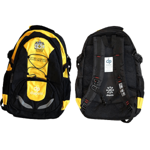 City of Cambridge - Sky Backpack Black-Yellow - Diapolo