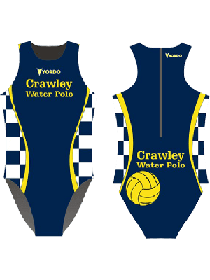 Crawley - Water Polo Costume, Zip